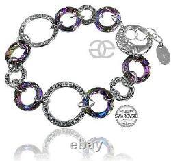 New Original Crystals Bracelet Vitrail Special Sterling Silver Certificate