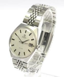 OMEGA Deville Date Automatic Original Bracelet Men's Watch 491424
