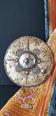 Old Tanimbar Islands Silver Ceremonial Plate beautiful collection piece
