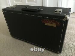 Olds Ambassador Bb Cornet in Silver Plate with Original Hard Case Vintage 1977