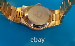 Omega Geneve cal. 1022 Automatic-Original Stunning Omega Bracelet Good Plated 35m