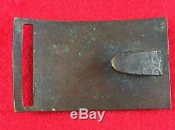 Original Civil War Sword Belt Plate Buckle Model 1851 Silver Wreath Non Dug