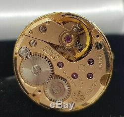 Original Omega Movement Cal 625 Gold Plated Sterling 925 Silver Cufflinks
