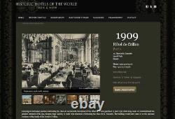 Pair of Antique Table Lamps Christofle Silver Plated Hotel de Crillon Paris RARE