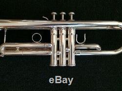 Pristine Silver Plated Yamaha YTR-5335G Allegro Step-Up Trumpet w Original Case