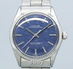 ROLEX Oyster Perpetual 1002 Original Dial Cal. 1570 Auto Vintage Watch 1971's
