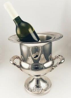 Reed and Barton Birmingham Silver Plate Wine Cooler Champagne Chiller