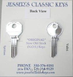 Rolls Royce Bentley Silver Plated Rare Original Master / Valet Set Yale Keys