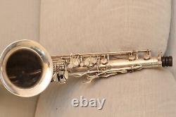 Selmer Mark VI tenor saxophone, Original silver-plating, 1957, s/n 75xxx