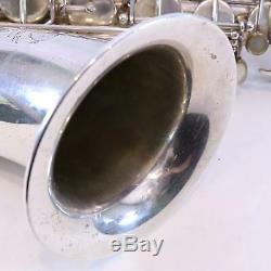 Selmer Paris Mark VI Tenor Saxophone SN 218665 ORIGINAL SILVER NICE