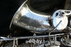 Selmer alto saxophone SA80 series II 1994/5 minty rare original Silver Plate