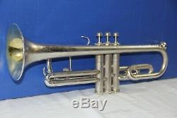 Silver Cornet Cavalier Great Playing'Parlor' trumpet in Original case