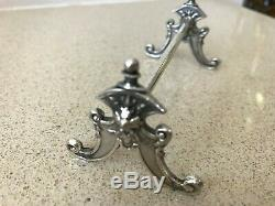 Silver Plated Vintage Austrian Antique Cutlery Rests in Original Box