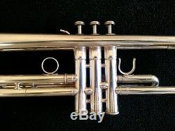 Silver Plated Yamaha Allegro YTR-5335G Step-Up Trumpet with Original Case