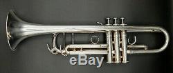 Silver Plated Yamaha Xeno YTR-8335 Professional Trumpet w Original Yamaha Case