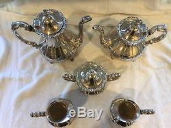 Silver Tea & Coffee Service 5 Piece