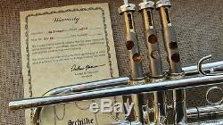 Slightly used! Schilke HANDCRAFT HC1-S with original case GAMONBRASS trumpet