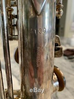 Soprano saxophone B&S with original case