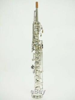 Soprano saxophone selmer mark vi overhauled/silver plated/ all original