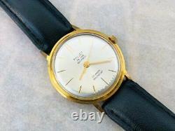 Soviet Vintage Poljot de Luxe Automatic Original Gold Plated Watch cal. 2415