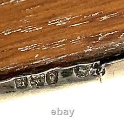 Sterling Silver Antique Pin Cushion Hallmarked Birmingham c. 1909