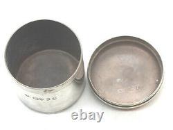 Sterling Silver Antique Trinket Box- London 1822