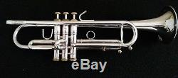 Stomvi Elite Professional Silver Plated Trumpet with Original Case