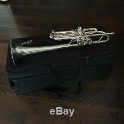 Stomvi Titan C-key, original double case, Bellflex Bell GAMONBRASS trumpet
