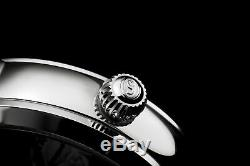 Stuhrling Original Men's 371.01 Legacy Automatic Self Wind Black Genuine Leathe
