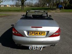 Stunning original and genuine LOW MILEAGE Mercedes SL 350 Convertible 54 plate