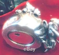 Unique Wmf Silver Plated Cats Money Box. Circa 1900. Book Piece