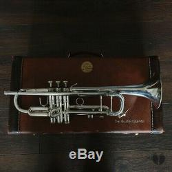 VINTAGE! 1990 Vincent Bach Stradivarius 43, original case GAMONBRASS trumpet
