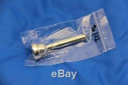 VINTAGE Vincent Bach Corp 1 1/2C Mouthpiece Trumpet SILVER Plated ORIGINAL
