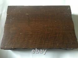 Vintage 1847 Rogers Bros. 52 PCs Silver plate Flatware Set w Original Box