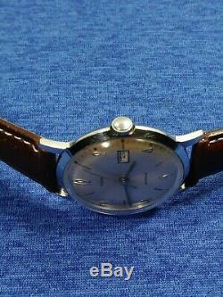 Vintage 1966 Timex Original Marlin Series Mechanic Wind-up Mens Watch Serviced