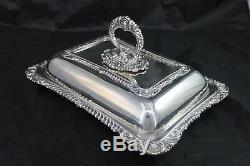Vintage Birks Regency Silverplate Covered Serving Dish Entree Silver Plate