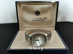 Vintage CERTINA DS 2 Automatic Steel Watch All Original in Box