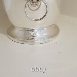 Vintage Leonard Silverplate Champagne/wine Bucket With Lion Head Handles