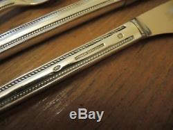Vintage Mid Century Modern Danish Silver Plate Frigast Farina Cutlery Set #2