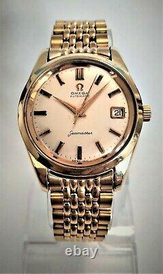 Vintage Omega Seamaster Gold Plated Automatic Ref 562 All Original 1960's