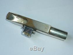 Vintage Original Lawton baritone silver plated mouthpiece