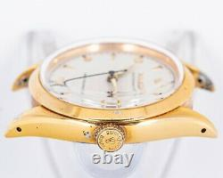 Vintage Original Rolex Gold Plated Oysterdate Precision 6494 with Roulette Date