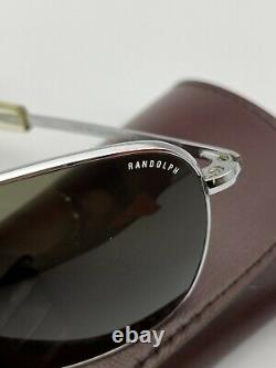 Vintage Randolph 58 Engineering 5 1/2 USA Silver plated Excellent Condition Rare