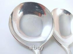 Vintage Silver Plate Danish Frigast Fleur Cutlery Set 10 person Henning Seidelin
