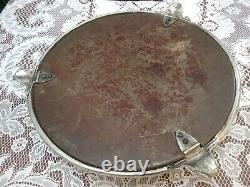 Vintage Silver/ Silver Plated Cake Stand In Original Box