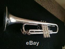 Vintage Yamaha YTR-737 Silver Plated Schilke Clone Trumpet