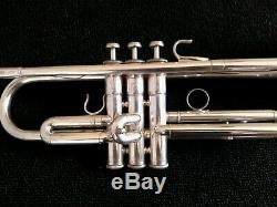 Vintage Yamaha YTR-737 Silver Plated Schilke Clone Trumpet with Original Case