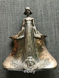 WMF Art Nouveau ORIGINAL Silver Plated Pot RARE Antique Original