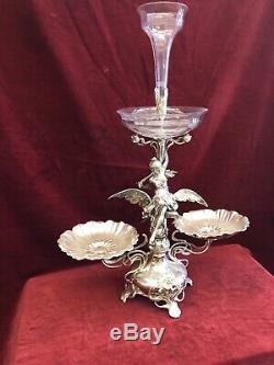 WMF Art Nouveau Silver Plated Center Piece