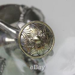 WMF Art Nouveau silver plated flower centerpiece